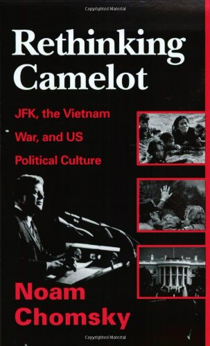 "Basically Chomsky rejects the conclusions of many investigative journalists on the politics of JFK as well as the factual accounting of his assassination. In the Chomsky view JFK was just a cold warrior puppet of the establishement. In the view of James Douglass in ""JFK and the Unspeakable: Why He Died and Why It Matters"" the case is made that JFK was at odds with the great ""military-industrial complex"" that his predecessor President Eisenhower warned the American people about it his Farewell Address. Chomsky sees this version as a romanticized version of a Camelot myth while Douglass documents a more deeply disturbing story."