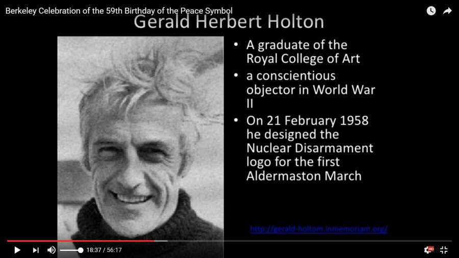 gerald-herbert-holton_21feb1958-design_nuclear-disarmament_berkeley_59th_birthday_of_peace-symbol