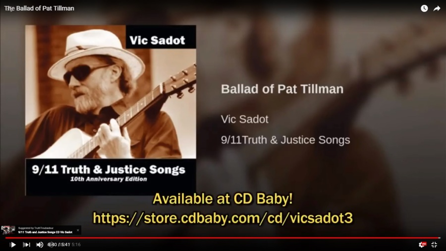 CD-Baby-CD_911TruthJusticeSongs_10thAnniv_The-Ballad-Of-Pat-Tillman-screenshot-vic-sadot