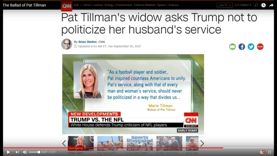 Marie-Tillman_reply-to_Trump-Tillman-Stand-for-Anthem-Boycott-NFL-Tweet_The-Ballad-Of-Pat-Tillman-screenshot-vic-sadot